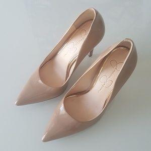 bc4f6034c839 Jessica Simpson Shoes - JESSICA SIMPSON Cassani nude pumps